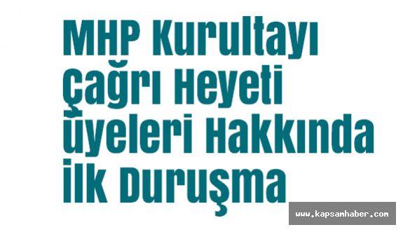 MHP Kurultayı Çağrı Heyeti üyeleri Hakkında İlk Duruşma