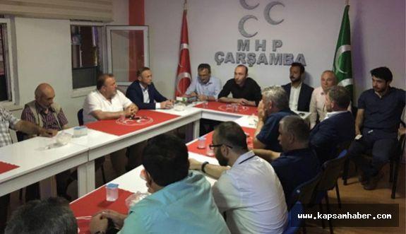 MHP Samsun İl Başkanlığında Kongre Hazırlığı
