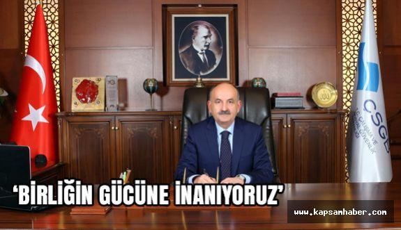 Bakan Müezzinoğlu'ndan 15 Temmuz Mesajı