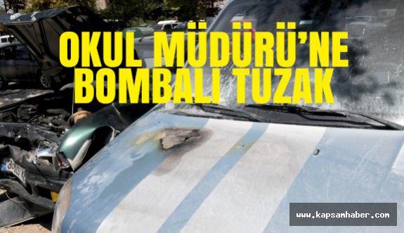 Osmaniye'de Okul Müdürüne bombalı tuzak kuruldu