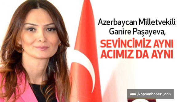 Paşayeva: Türkiye ve Azerbaycan tek millet iki devlettir