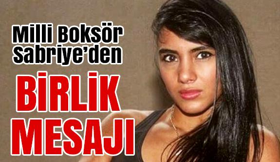 Sabriye Şengül'den Tüm Türkiye'ye Birlik Mesajı