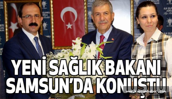 Sağlık Bakanı Demircan; Samsun'da Konuştu