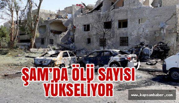 Şam'daki Saldırıda Ölü Sayısı Yükseldi