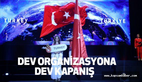 Samsun'da Dev Organizasyona Dev Kapanış