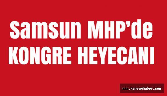 Samsun MHP 12. Olağan Kongresine Usta ve Demirel Katılacak