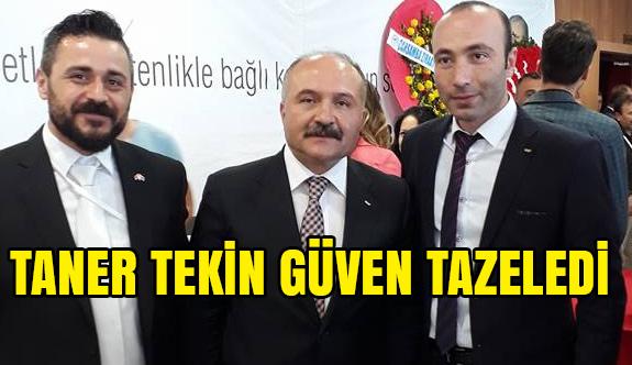Samsun MHP'de Taner Tekin Yeniden Başkan