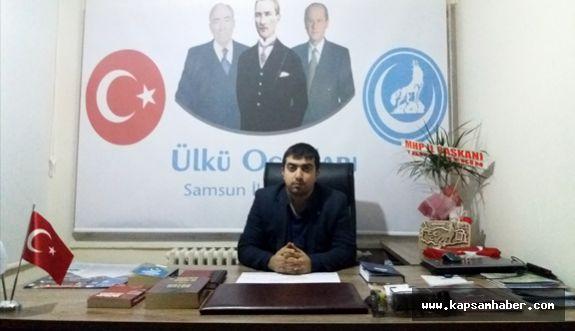 Samsun Ülkü Ocakları Basın Bayramını Kutladı