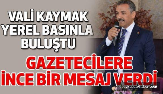 Samsun Valisi Kaymak; Gazeteci Her Yazdığından Sorumludur!
