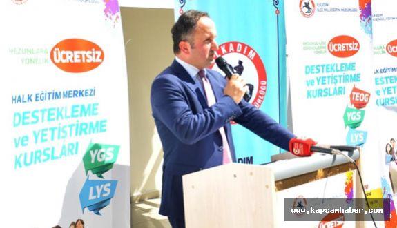 Samsun'da Öğrencilere Milli Eğitimden Destek