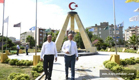 Tekkeköy 15 Temmuz şehitler anıtı açılıyor