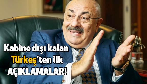 Tuğrul Türkeş'ten İlk Açıklama!
