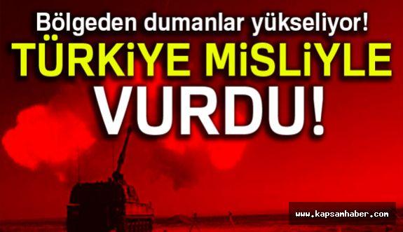 Türkiye Saldırıya Misliyle Cevap Verdi