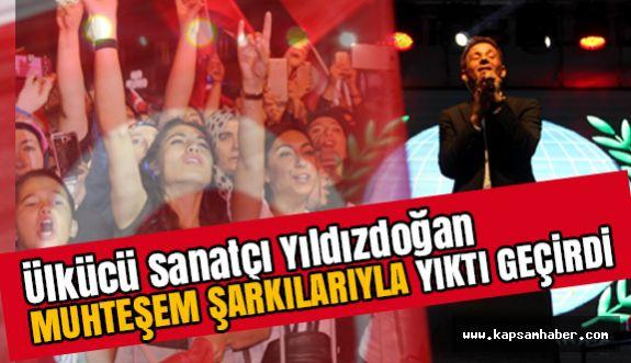 Ülkücü Sanatçı Mustafa Yıldızdoğan'dan Muhteşem konser