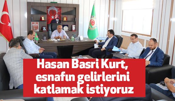 Ak Parti Samsun Milletvekili Hasan Basri Kurt, Bafra'yı Ziyaret Etti