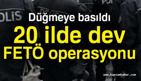 Ankara Merkezli Dev FETO Operasyonu