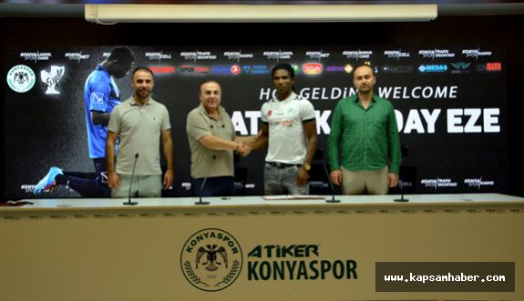 Atiker Konyaspor'dan  Nijeryalı forvet transferi