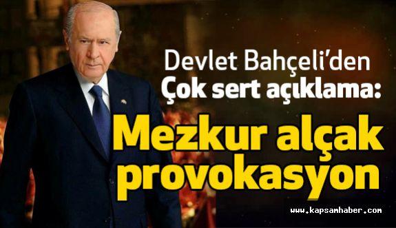 """Bahçeli; """"Yeni Devlet kuruyoruz"""" Lafı FETÖ'ye Uzatılmış Zeytin Dalıdır"""
