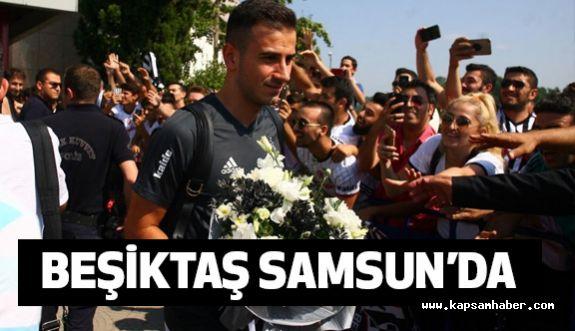 Beşiktaş Samsun'da...