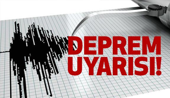 Bodrum'da Deprem Uyarısı!