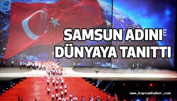 Deaflympics 2017, Samsun'u Dünyaya Tanıttı