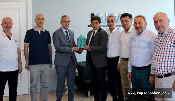 Emniyet Müdürü Yavuz'dan MÜSİAD 'a Ziyaret