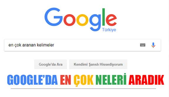 Google'da En Çok Neleri Aradık?