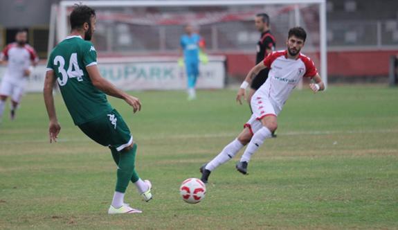 Hazırlık Maçı: Samsunspor: 0 - Giresunspor: 0
