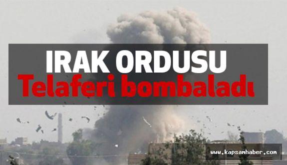 Irak Ordusu Telaferi Bombaladı