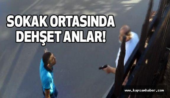 İstanbul Beyoğlu'nda sokak ortasında Dehşet