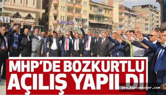 MHP Hakkari il başkanlığının Bozkurtlu Açılışı...