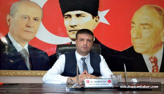 MHP Kocasinan İlçe Başkanlığına Atama Yapıldı