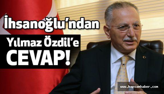 MHP'li İhsanoğlu'ndan Yılmaz Özdil'e Cevap!