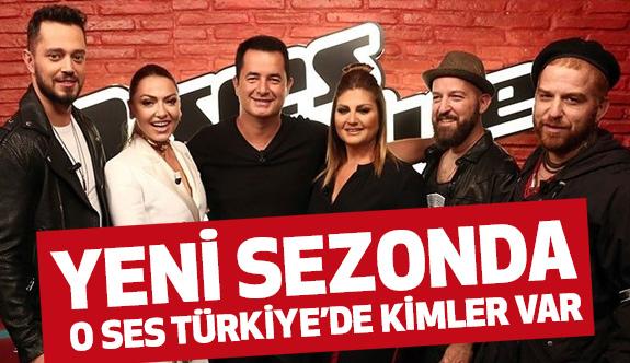 O Ses Türkiye'de jüri de kimler var, kimler yok