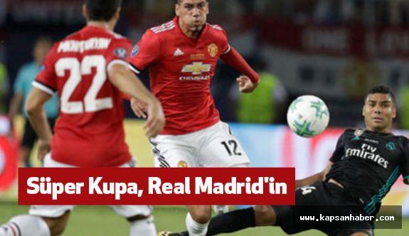 Real Madrid, Manchester United'ı Mağlup Etti.