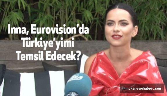 Romanyalı Şarkıcı Inna, Eurovision'da Türkiye'yimi Temsil Edecek?