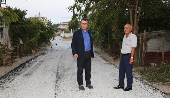 Samsun, Atakum'da yollar yenileniyor