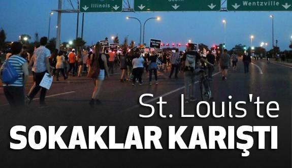 ABD'nin St. Louis Kentinde Sokaklar Karıştı