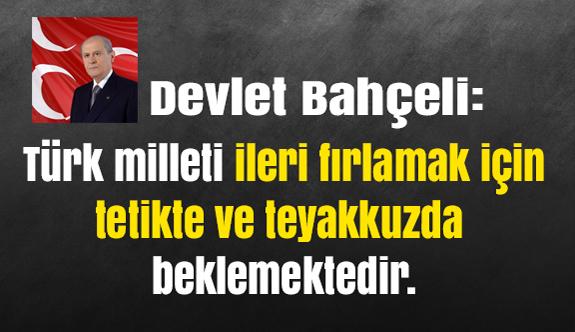 Bahçeli; Kerkük'ün Türklük Ruhu Gasp Edilemeyecek