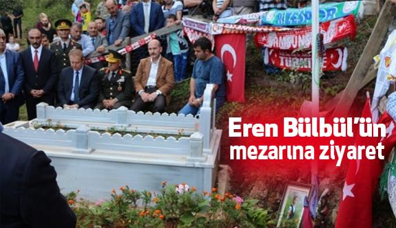Bakandan Eren Bülbül'ün Mezarına Ziyaret