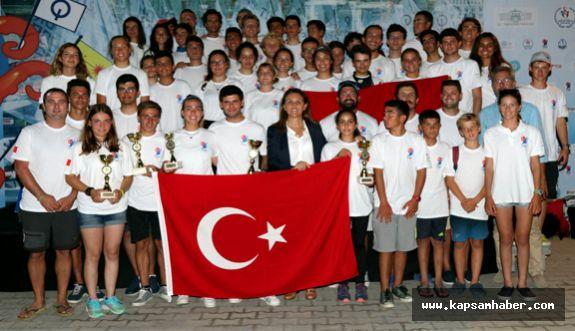 Balkan Yelken Şampiyonası'nda Türkiye dört birincilik elde etti