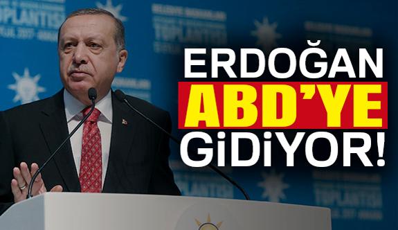 Cumhurbaşkanı Erdoğan ABD'ye Gidiyor...