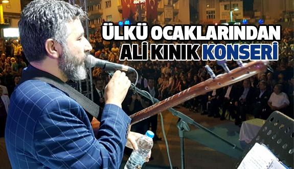 Develi Ülkü Ocakları Ali Kınık Konseri