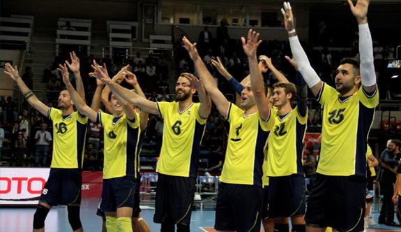 Halkbank: 1 - Fenerbahçe: 3