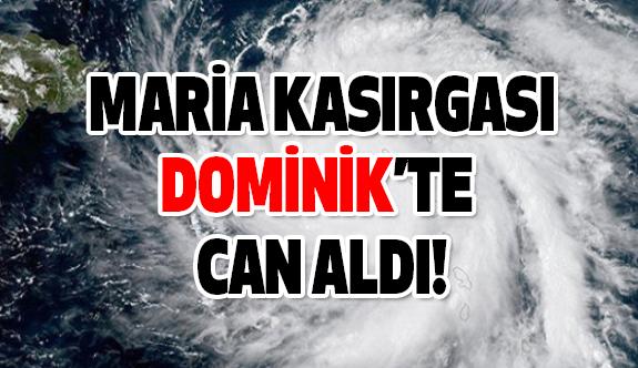 Maria Kasırgası Dominik'i Vurdu