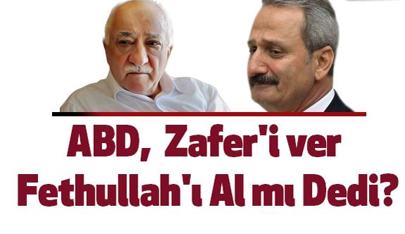 MHP'li Yönetici: ABD,  Zafer'i ver Fethullah'ı Al mı Dedi?