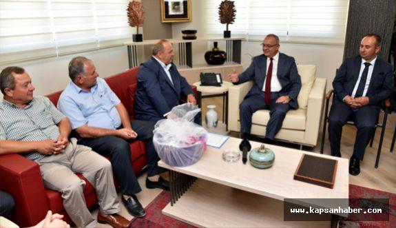 MHP Saruhanlı Yönetiminden Başkan Ergün'e Ziyaret
