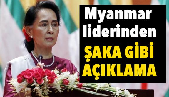 Myanmar lider; Ülkesinde neler olduğunu anlayamamış