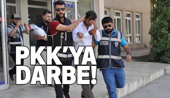 PKK'nın uyuşturucu sevkıyatına darbe