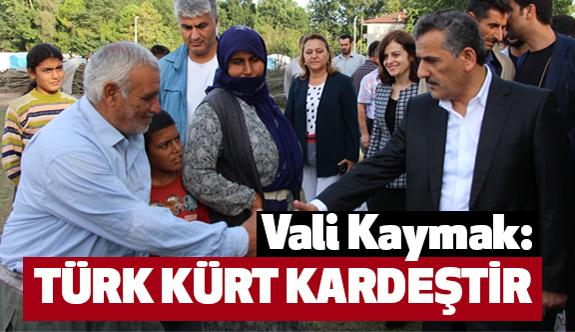 Samsun Valisi Kaymak; Kürtler ve Türkler Kardeştir
